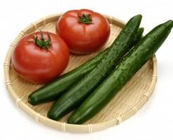 きゅうり トマト 太りにくい