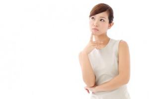 疑問 考える 女性