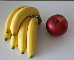 ダイエット中 冬 食べ物 オススメ 果物 バナナ リンゴ