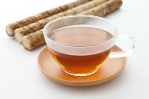 産後ダイエット ごぼう茶 効果的 食物繊維 ポリフェノール ミネラル