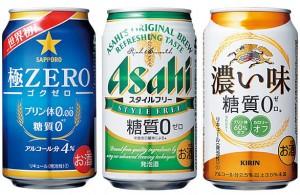 ダイエット 糖質0ビール 糖質に注意