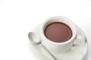 ダイエット中 間食 最適な飲み物 ココア 食物繊維 ポリフェノール
