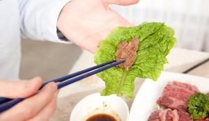 ダイエット中 ステーキ 焼き肉 食べる ポイント 野菜 サンチュ