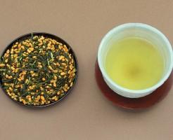 玄米茶 ダイエット効果 栄養素 食物繊維 便秘改善