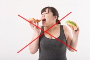 ダイエット停滞期 NG行動 ヤケ食い ドカ食い ダイエット中断