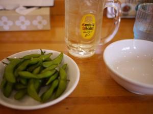 ダイエット おつまみ 注意 枝豆 豆腐 刺身
