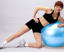 ウエスト痩せ バランスボール 効果的 インナーマッスル 体幹