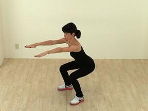 脚痩せ 効果的 スクワットの方法