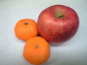 冬 ダイエット オススメ 果物 リンゴ みかん
