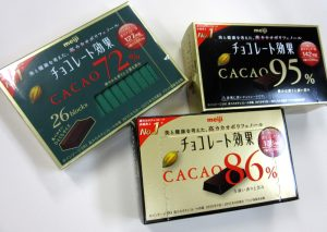 ダイエット チョコレート 選び方 カカオ含有量