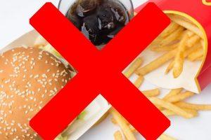 食事置き換えダイエット 注意点 普通食 回復食 ファーストフード ジャンクフード NG