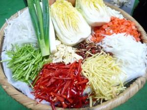 キムチ ダイエット 食物繊維 カプサイシン